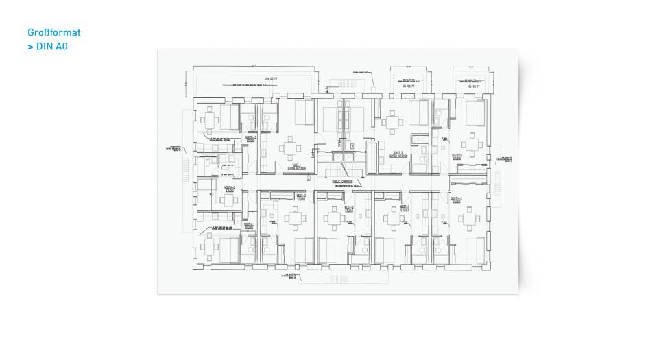 Großformate & CAD Pläne