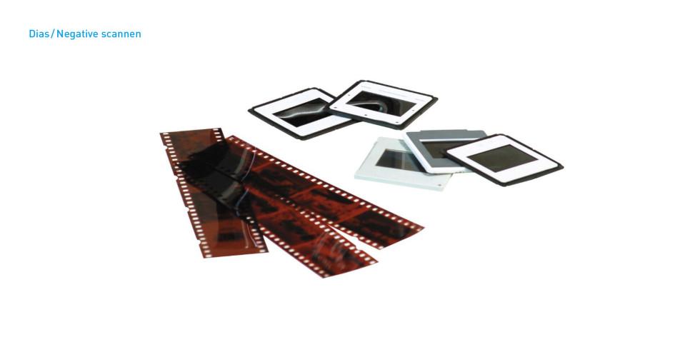Dias und Negativfilme scannen