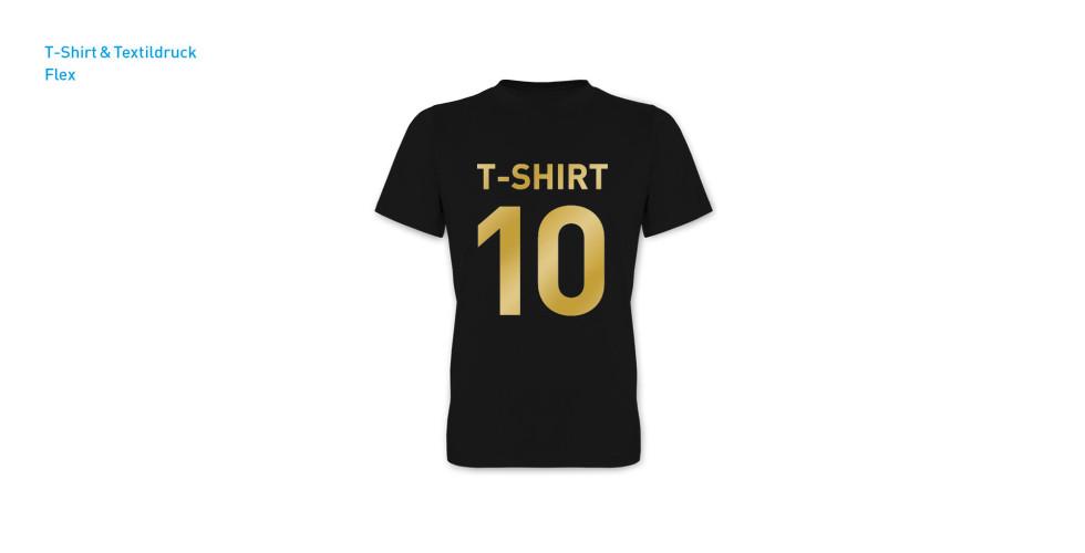 T-Shirt und Textildruck