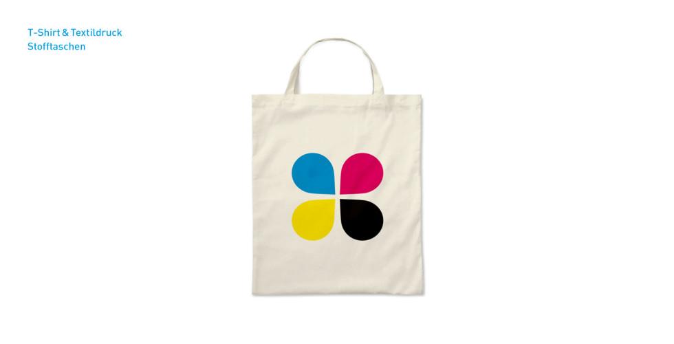 Textildruck - Stofftasche
