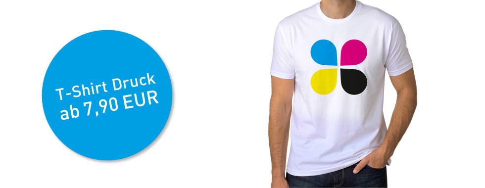 T-Shirt und Textildruck ab 7,90 Euro
